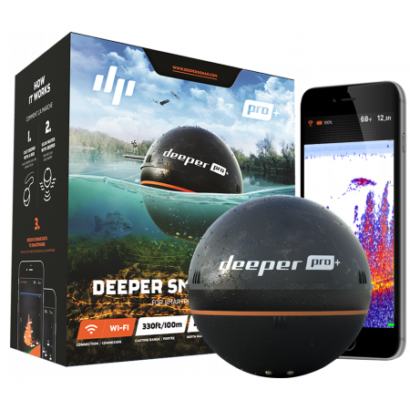 Internet of Things Deeper Smart Sonar PRO+