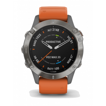 Internet of Things Garmin fēnix 6 Sapphire Titanium