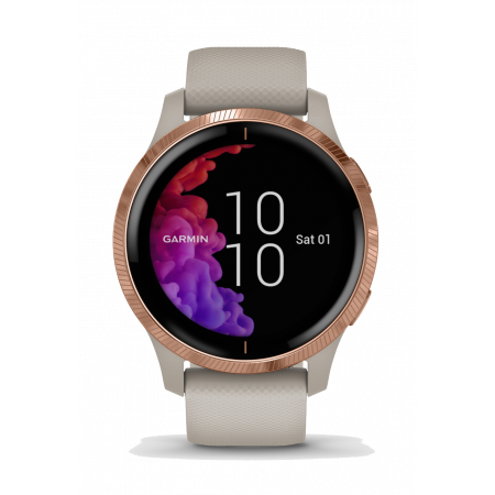 Смарт-помощник Garmin Venu Light Sand/Rose Gold