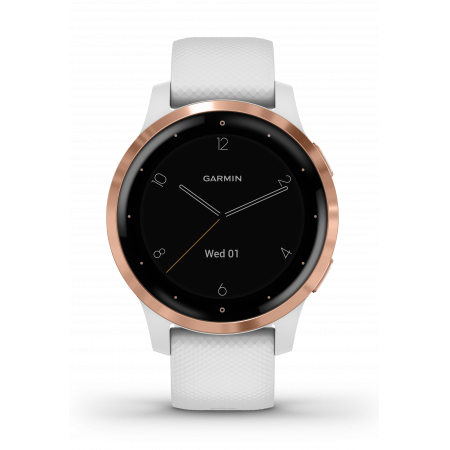 Смарт-помощник Garmin Vivoactive 4S White/Rose Gold