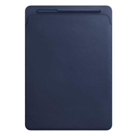 "Aksesuārs Apple iPad Pro 12.9"" Leather Sleeve Midnight Blue MQ0T2ZM/A"