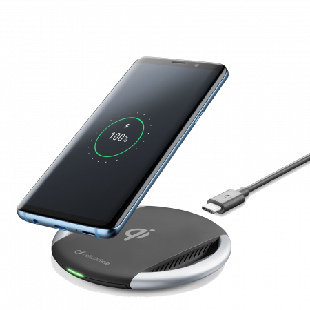 Аксессуар Bezvadu lādētājs Cellularline Wireless Fast Charger 10W