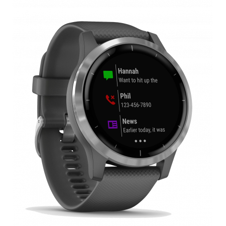 Internet of Things Garmin Vivoactive 4 Shadow Gray/Silver