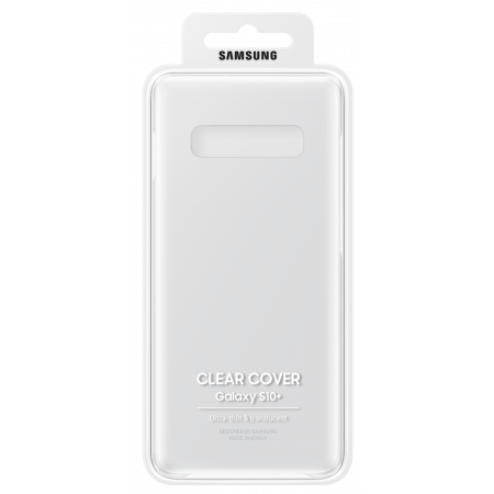 Аксессуар Samsung Galaxy S10 Plus Clear Cover