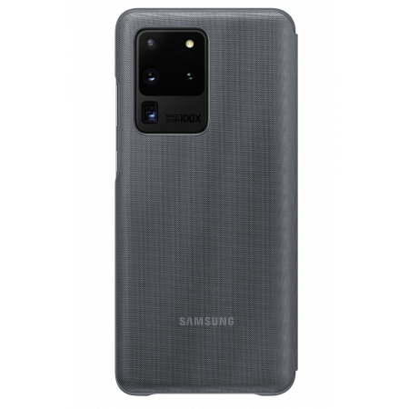 Accessory Samsung Galaxy S20 Ultra EF-NG988PJEGEU LED View Cover Gray