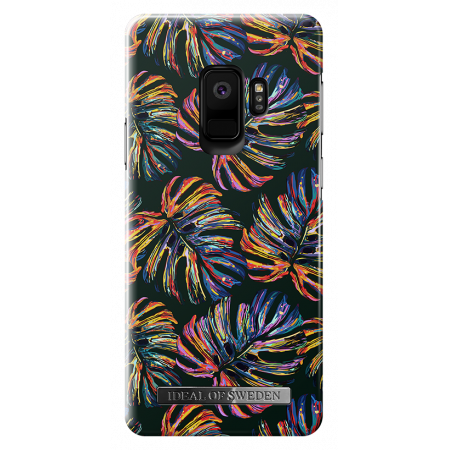 Aksesuārs Samsung Galaxy S9 iDeal Fashion Case Neon Tropical