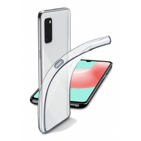 Accessory Vāciņš Samsung Galaxy A41 Transparent case Cellularline