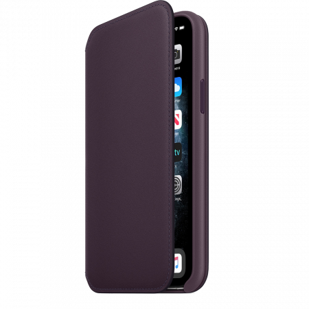 Аксессуар iPhone 11 Pro Max Leather Folio