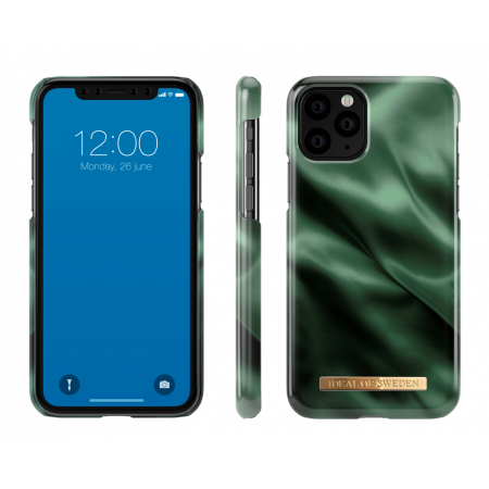 Aksesuārs iPhone 11 Pro Max iDeal Fashion Case Emerald Satin