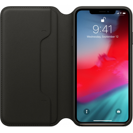 Аксессуар iPhone XS Max Leather Folio