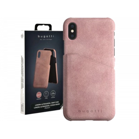 Accessory iPhone X Bugatti Londra pink