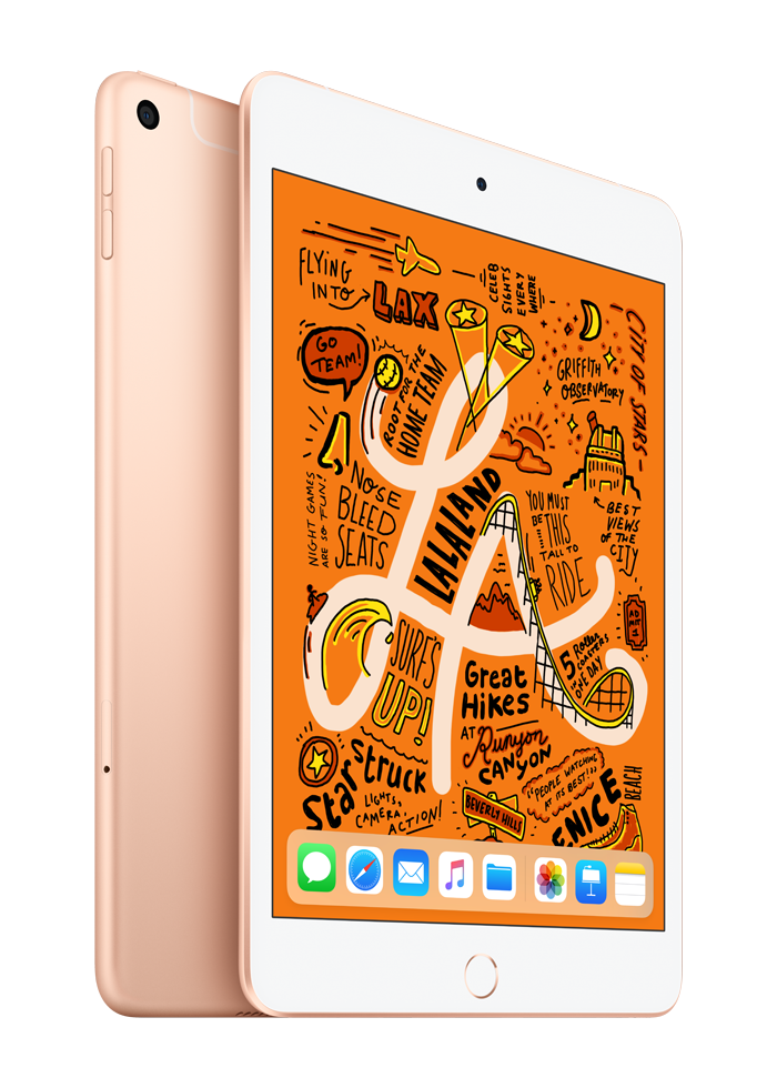 Планшет Apple iPad Mini 5th Gen 64GB Wi-Fi MUQY2/MUQX2/MUQW