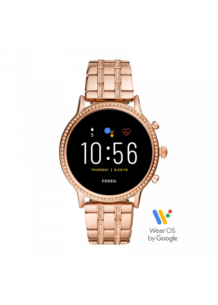 Internet of Things Fossil Gen5 Julianna HR Stainless