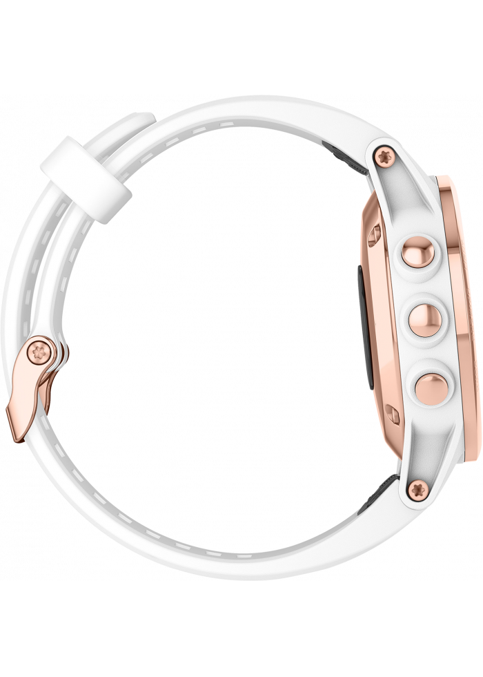 Garmin fēnix 5S Plus Sapphire Rose Gold with White Band