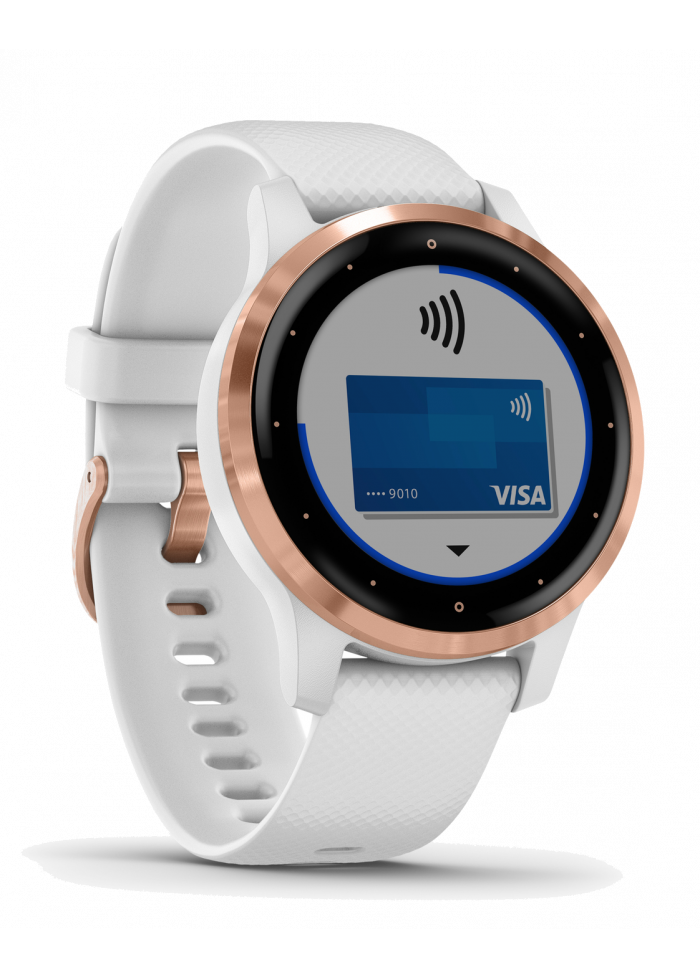 Internet of Things Garmin Vivoactive 4S White/Rose Gold