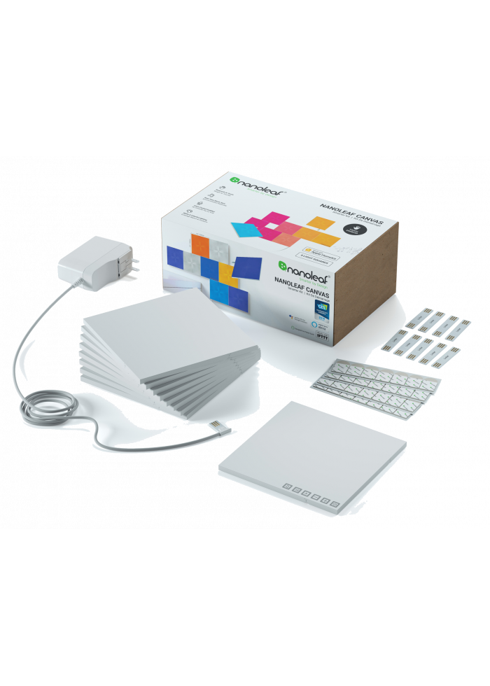 Viedpalīgs Nanoleaf Canvas Smarter Kit