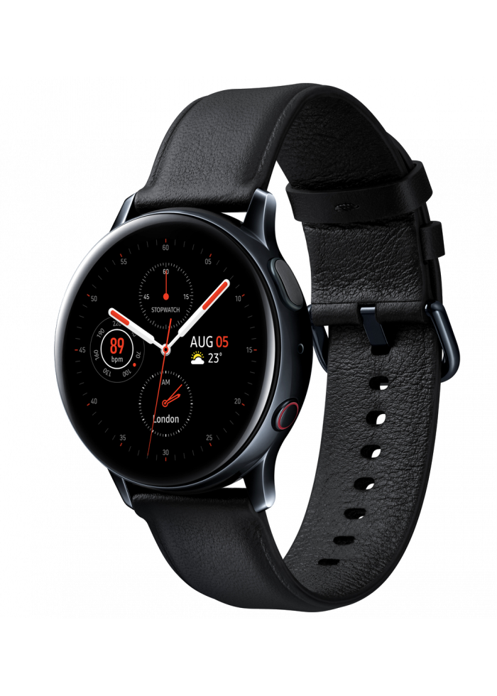 Смарт-помощник Samsung Galaxy Watch Active 2 40mm LTE Stainless R835