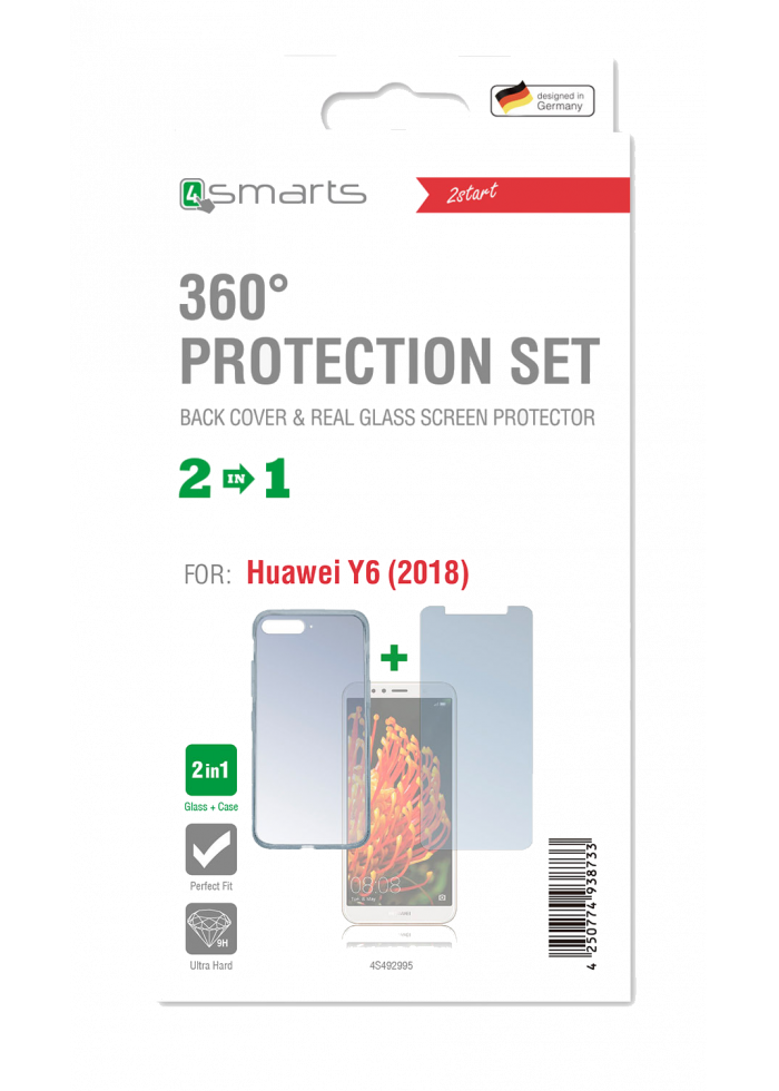 Huawei Y6 2018 360 Protection Set 4Smarts
