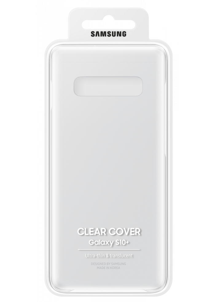 Samsung Galaxy S10 Plus Clear Cover