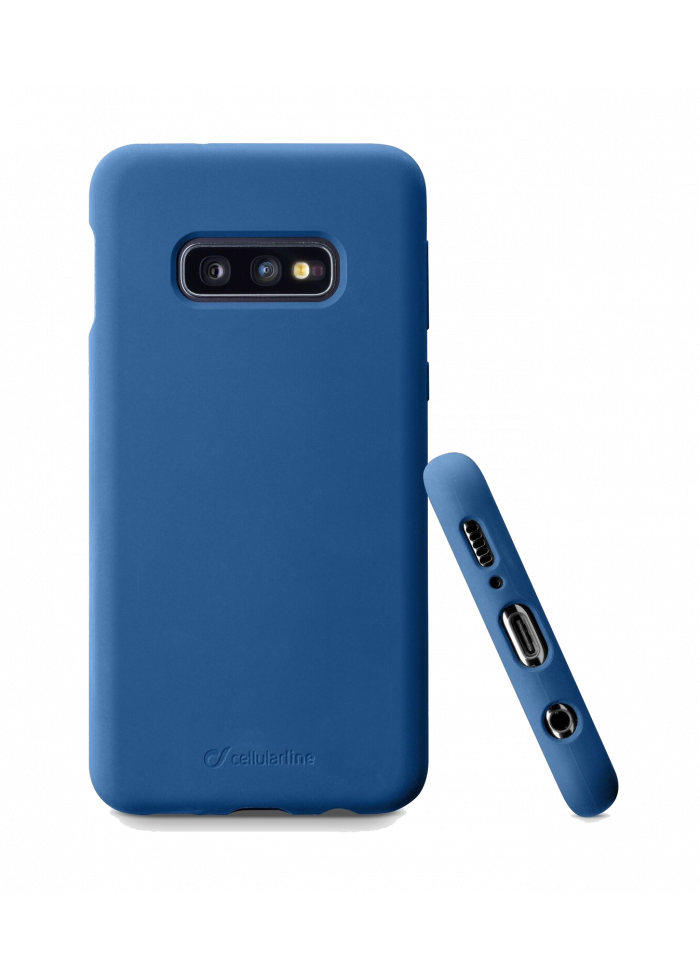 Samsung Galaxy S10e Sensation Silicone blue Cellularline