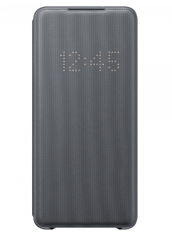 Aksesuārs Samsung Galaxy S20 Plus EF-NG985PJEGEU LED View Cover Gray