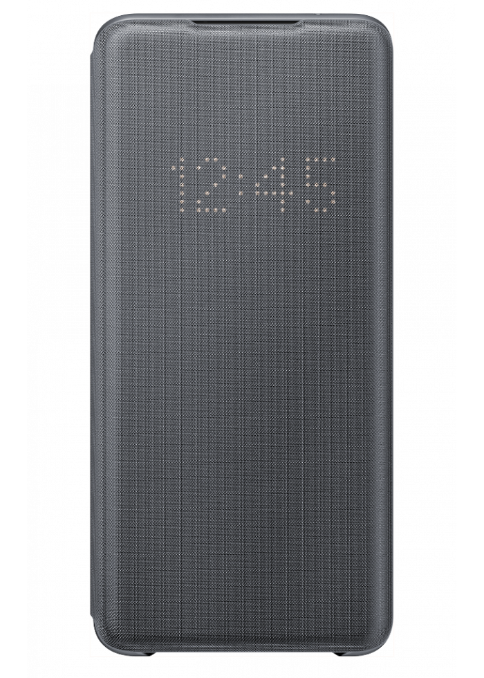 Aksesuārs Samsung Galaxy S20 Ultra EF-NG988PJEGEU LED View Cover Gray