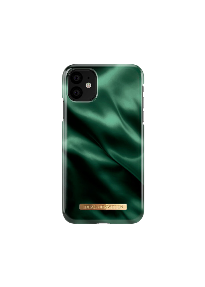Aksesuārs iPhone 11 iDeal Fashion Case Emerald Satin