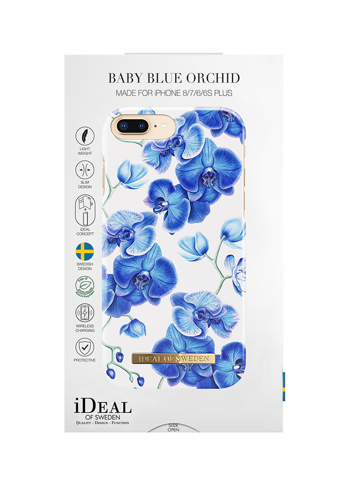 iPhone 6/6s/7/8 Plus iDeal Fashion Case Baby Blue Orchid