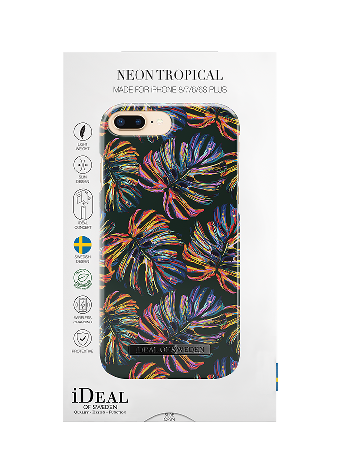iPhone 6/6s/7/8 Plus iDeal Fashion Case Neon Tropical