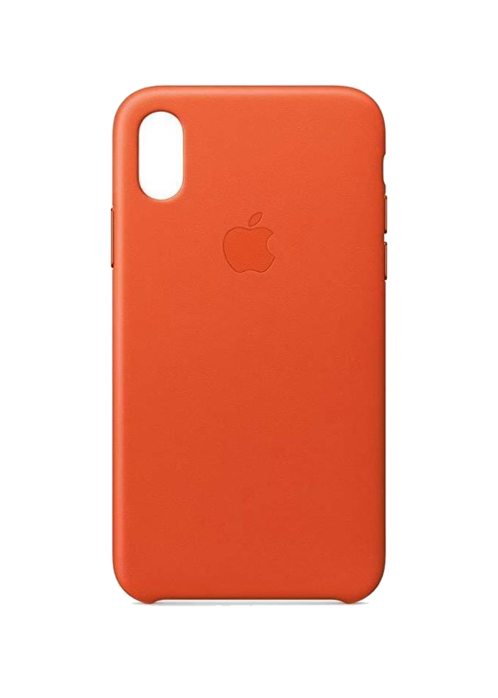 iPhone X Leather Case Bright